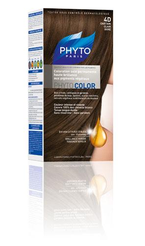 Phytocolor 4d castaño claro dorado