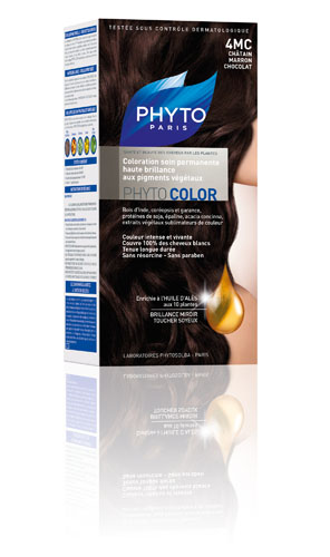 Phytocolor 4mc castaño claro marron