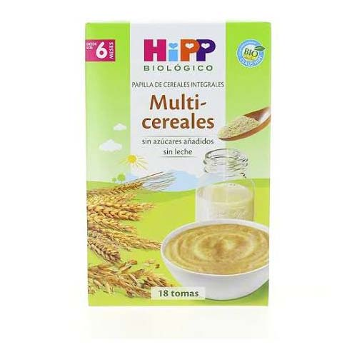 Hipp multicereales (400 g + 6 m)