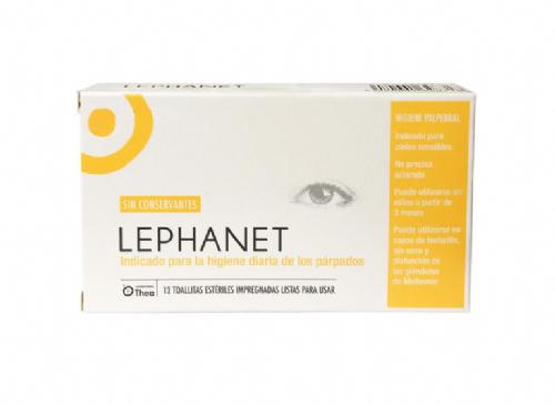 Lephanet toallitas esteriles (12 toallitas)