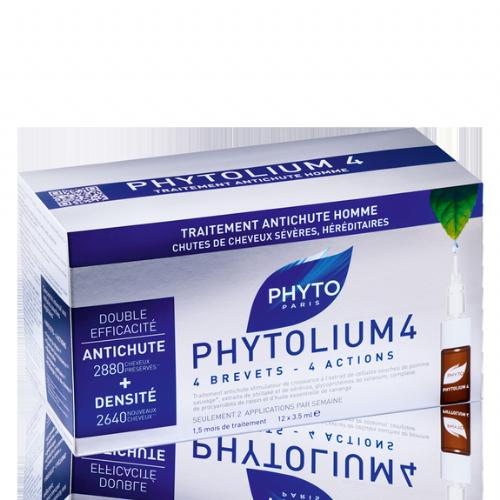 Phytolium 4 anti-caida hombre 12 dosis