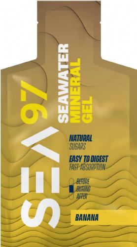 Mineral gel sea97 banana
