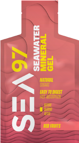 Mineral gel sea97 red fruits