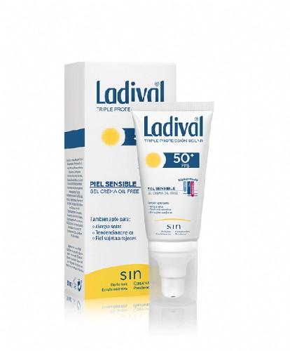 Ladival facial piel sensible con color fps 50+ (50 ml)