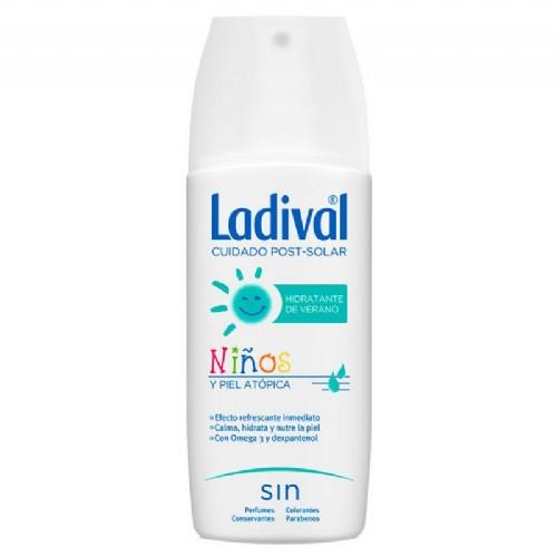 Ladival hidratante de verano para niños y piel atopica (spray 150 ml)