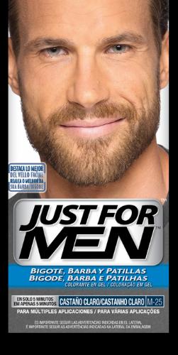 Just for men bigote y barba (30 cc castaño claro)
