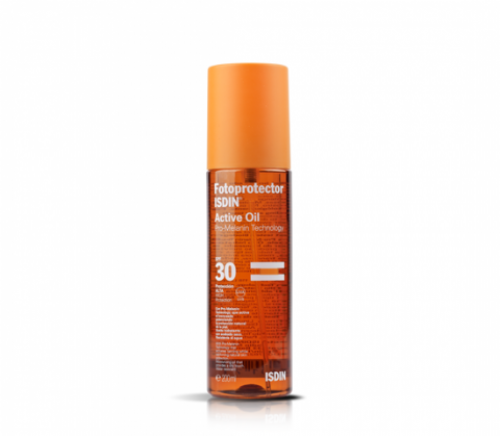 Fotoprotector isdin active oil spf 30 (200 ml)