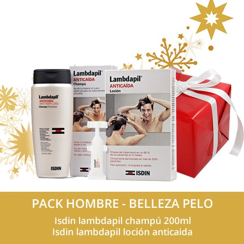 PACK HOMBRE ISDIN LAMBDAPIL ANTICAIDA