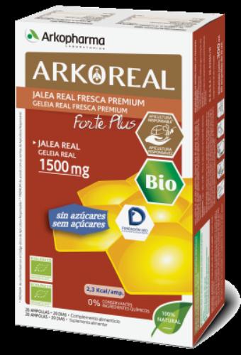 Arkofarma jalea real 1500mg 20 amp