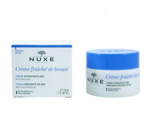 Nuxe crema fraiche de beauté hidratante 48h anti-polucion pn) 50 ml