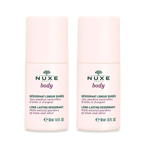 Nuxe body desodorante larga duración 24h  duplo 2x50ml