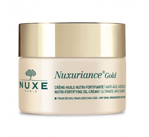 Nuxe nuxuriance gold crema-aceite nutri-fortificante, 50 ml