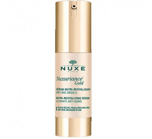 Nuxe nuxuriance gold serum nutri-revitalizante, 30 ml