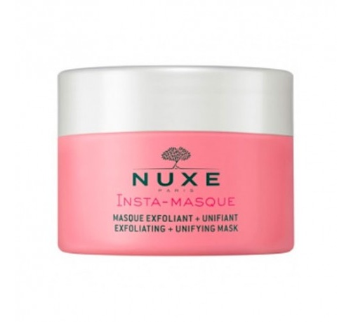 Nuxe insta-masque mascarilla exfoliante + uniformizante, 50 ml