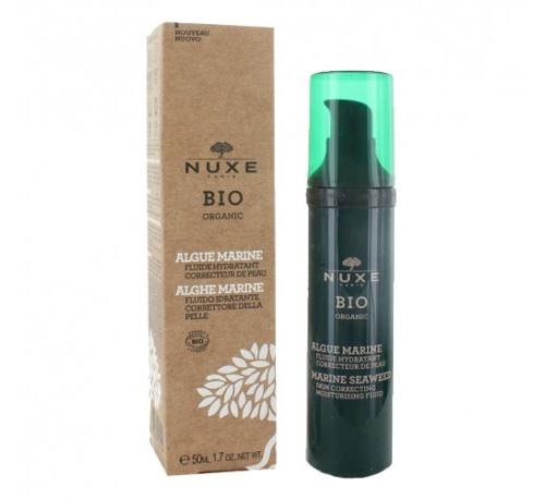 Nuxe fluido hidratante corrector - alga marina, 50 ml