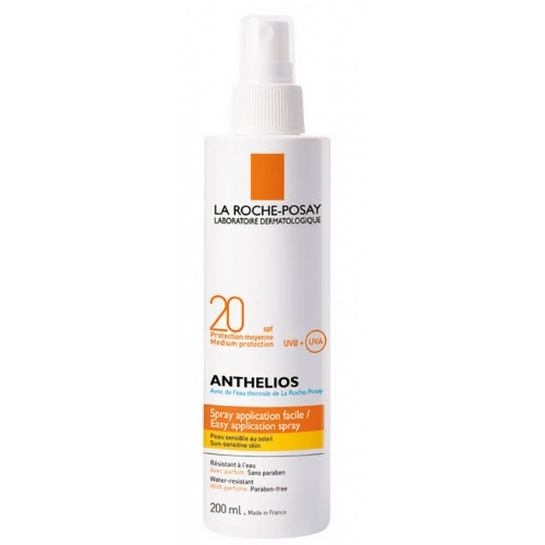 Anthelios spf 20 proteccion media spray (200 ml)