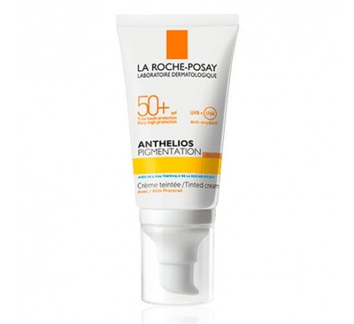 Anthelios pigmentation crema con color spf50+ 50