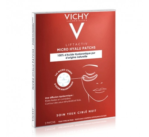 Lifactiv micro hyalu filler patchs (2 parches)
