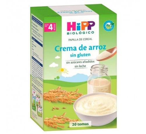 Hipp papilla crema de arroz