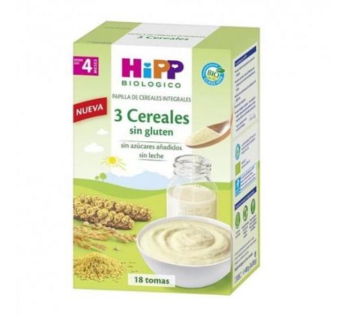 Hipp cereales integrales 3 cereales 2 x 200 g