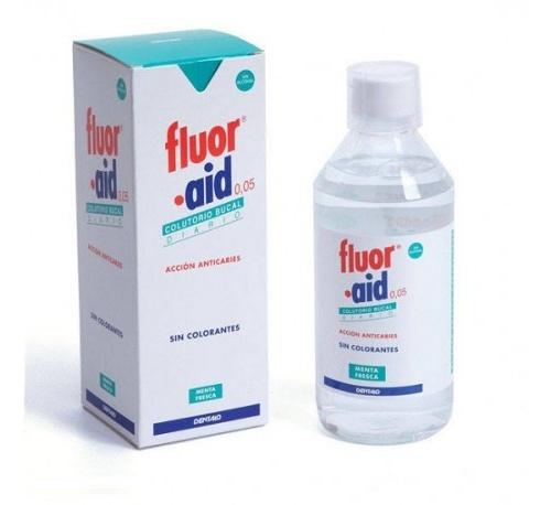Fluor aid colutorio (500 ml)