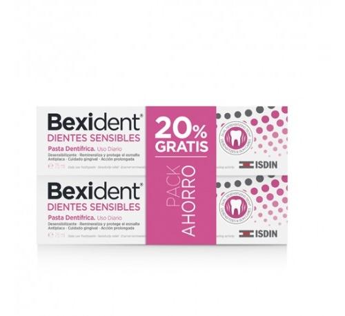 Bexident duo dientes sensibles pasta 75ml