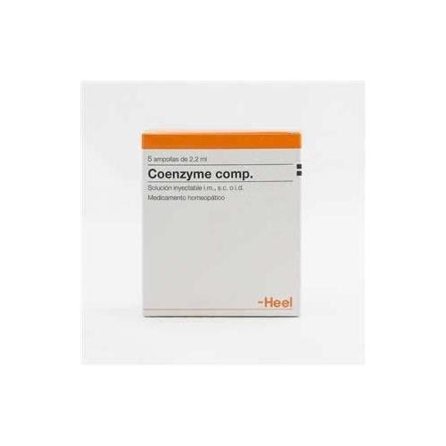 Heel coenzyme comp 5 ampollas 2,2 ml