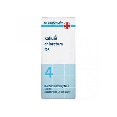 Sales de schussler nº 4 kalium chloratum d6 cp