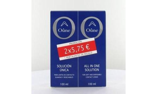 Oûne lentes de contacto blandas solucion unica 1
