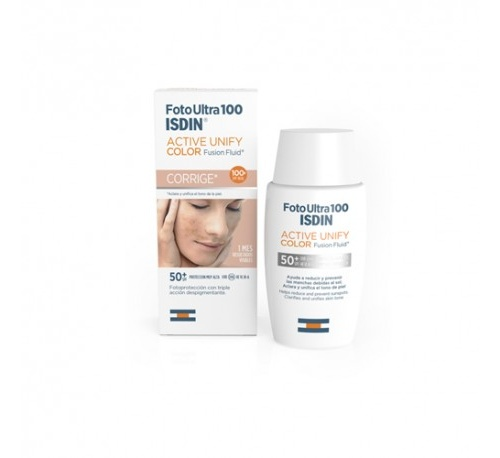Fotoultra isdin active unify fusion fluid color (50 ml)