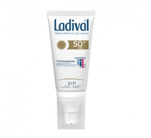 Ladival facial accion antimanchas con delentigo fps 50+ (50 ml)