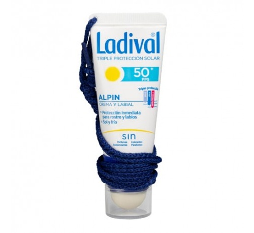 Ladival alpin fps 50+ (20 ml crema + 3.2 g labial)