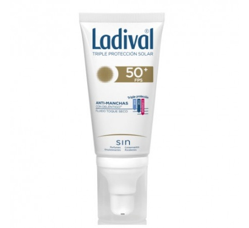 Ladival facial accion antimanchas con delentigo toque seco f (50 ml)
