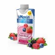 Bimanan sustitutive batido de frutos rojos (330 ml)