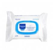Mustela toallitas limpiadoras paquete (25 toallitas)