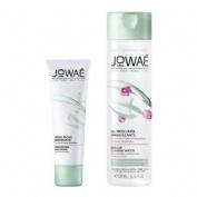 Jowae cofre hidratante rica+agua micelar.