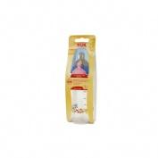 Biberon Nuk first choice tetina latex ( 300 ml leche talla 1 m )