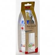 Biberon Nuk first choice tetina latex talla 2 ( 300 ml )