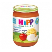 Hipp biolog. potito espagueti tomate y mozzarela