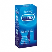 Durex natural xl preservativos (12u)