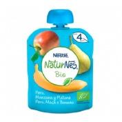 Nestle naturnes bio pera manzana y platano (bolsita 90 g)