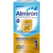 Almiron advance 1 liquido minibiberon (70 ml  4 u)