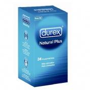 DUREX NATURAL PLUS + DUREX SENSITIVO CONTACTO TT - PRESERVATIVOS (PACK 24 + 6 PRESERV)