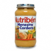 NUTRIBEN MENESTRA DE CORDERO (POTITO GRANDOTE 250 G)