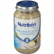 NUTRIBEN VERDURA SELECTA Y LENGUADO (POTITO GRANDOTE 250 G)