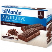 Bimanan barritas chocolate negro fondant (8 barritas 40 g)( 320 g )