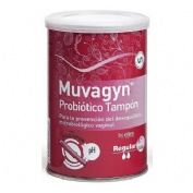 Muvagyn probiotico tampon vaginal (regular c/ aplicador 9 tampones)