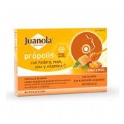 Juanola propolis hiedra pastillas miel (24 pastillas)