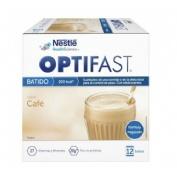 Optifast batido (12 sobres 53 g sabor cafe)