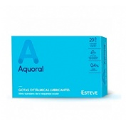 Aquoral gotas humectantes con acido hialuronico 0.4% (0.5 ml 20monodosis)